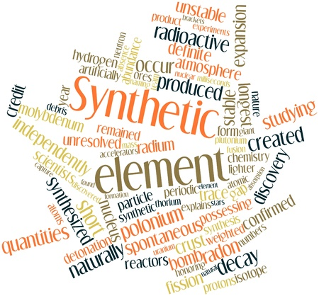 longest: Abstract word cloud for Synthetic element with related tags and terms