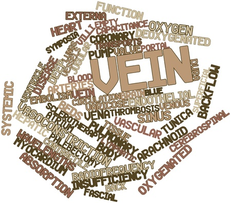 norepinephrine: Abstract word cloud for Vein with related tags and terms