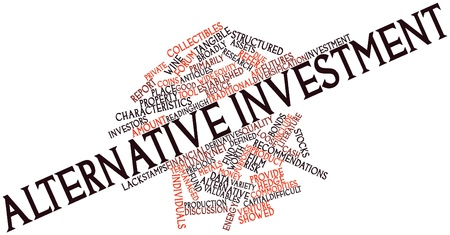 good investment: Abstract word cloud for Alternative investment with related tags and terms