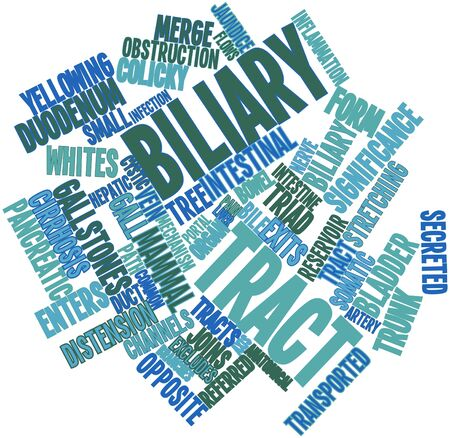 secreted: Abstract word cloud for Biliary tract with related tags and terms
