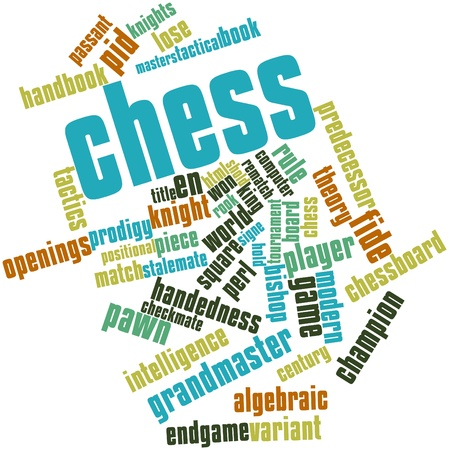 predecessor: Abstract word cloud for Chess with related tags and terms