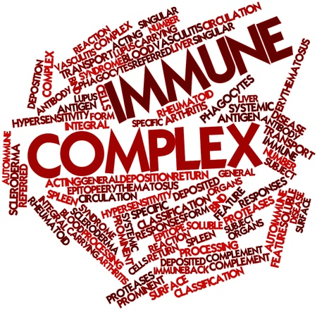 epitope: Abstract word cloud for Immune complex with related tags and terms