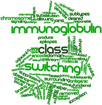 biased: Nube parola astratta per classe di immunoglobuline di commutazione con tag correlati e termini