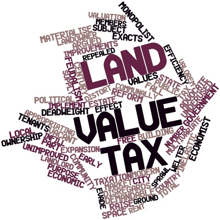 feudalism: Abstract word cloud for Land value tax with related tags and terms