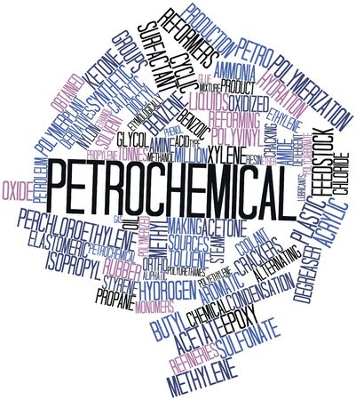 obtained: Abstract word cloud for Petrochemical with related tags and terms