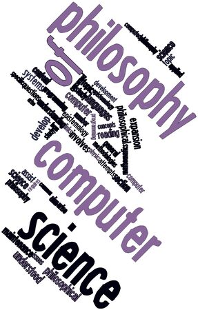 attempts: Abstract word cloud for Philosophy of computer science with related tags and terms