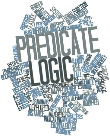 range fruit: Abstract word cloud for Predicate logic with related tags and terms