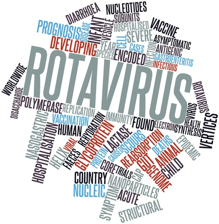 Abstract word cloud for Rotavirus with related tags and terms Stock Photo - 16720758