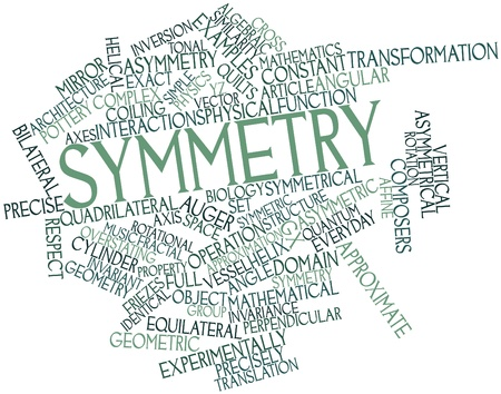 similarity: Abstract word cloud for Symmetry with related tags and terms