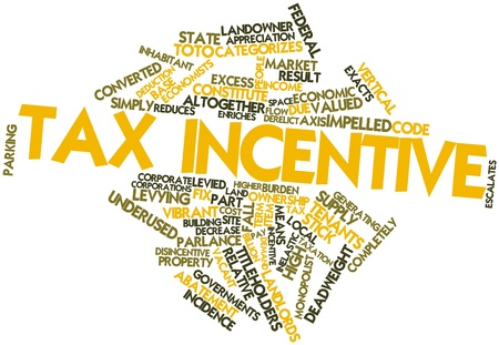 Abstract word cloud for Tax incentive with related tags and terms Stock Photo - 16719648