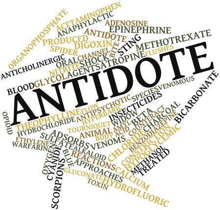 quantities: Abstract word cloud for Antidote with related tags and terms