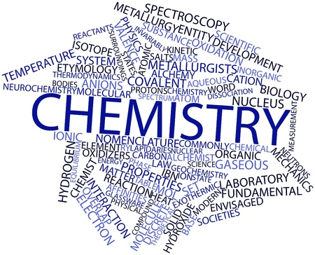 gaseous: Abstract word cloud for Chemistry with related tags and terms