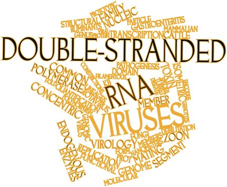 lacks: Abstract word cloud for Double-stranded RNA viruses with related tags and terms