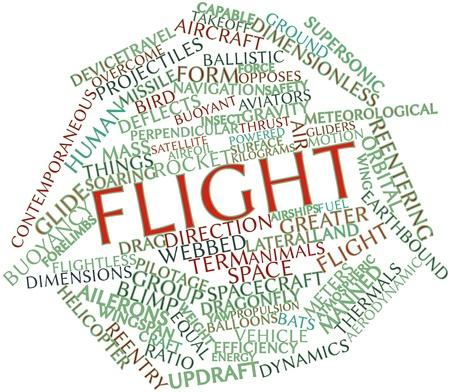contemporaneous: Word cloud astratto per aereo con tag correlati e termini Archivio Fotografico