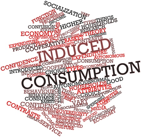 induced: Abstract word cloud for Induced consumption with related tags and terms