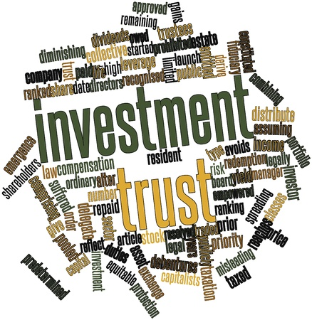 reaches: Abstract word cloud for Investment trust with related tags and terms