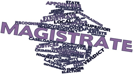 jurists: Abstract word cloud for Magistrate with related tags and terms