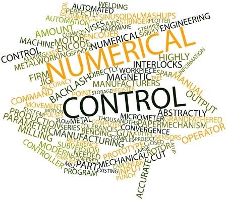 subversion: Abstract word cloud for Numerical control with related tags and terms
