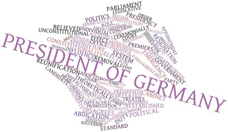Abstract word cloud for President of Germany with related tags and terms Stock Photo - 16738944