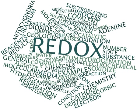 Abstract word cloud for Redox with related tags and terms Stock Photo - 16739163