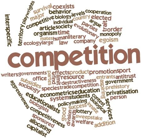 sociologia: Nube de palabras Resumen de Competencia con las etiquetas y términos relacionados