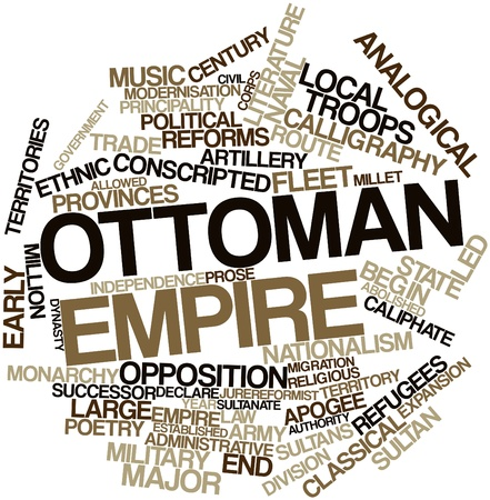 abolished: Abstract word cloud for Ottoman Empire with related tags and terms