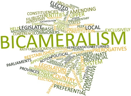 legislators: Abstract word cloud for Bicameralism with related tags and terms