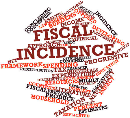 fiscal: Abstract word cloud for Fiscal incidence with related tags and terms