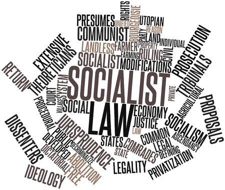 dictatorial: Word cloud astratto per legge socialista con tag correlati e termini