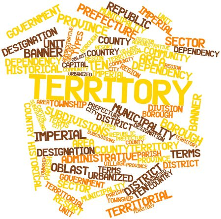 township: Abstract word cloud for Territory with related tags and terms