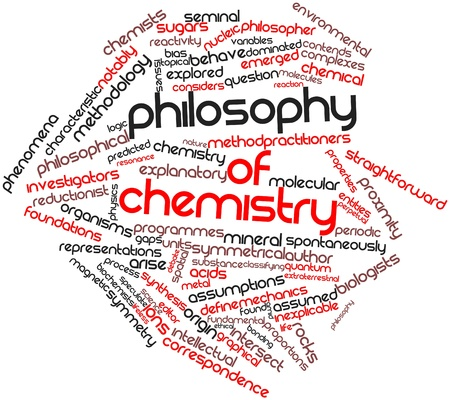 reactivity: Abstract word cloud for Philosophy of chemistry with related tags and terms