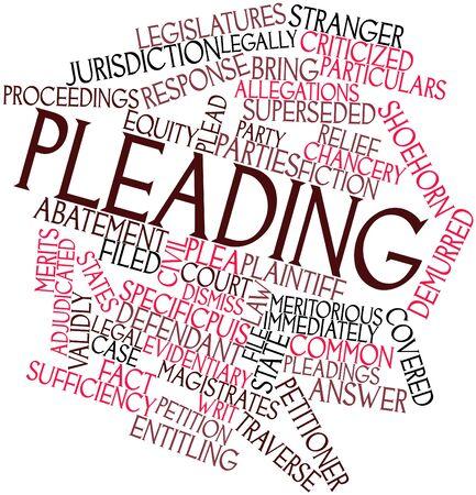 suplicando: Nube palabra abstracta para Suplicando con etiquetas y t�rminos relacionados