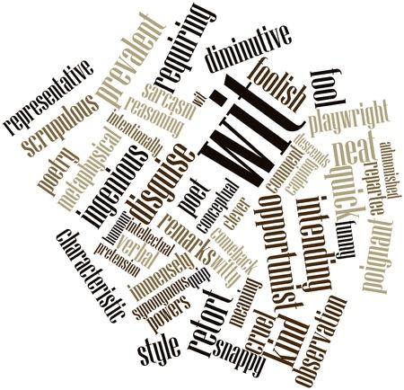 synoniem: Abstracte woord wolk voor Wit met gerelateerde tags en termen Stockfoto