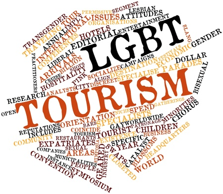 catalyst: Abstract word cloud for LGBT tourism with related tags and terms
