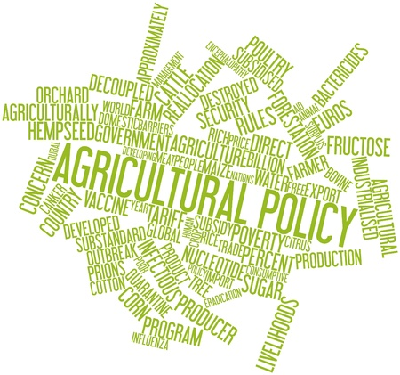 livelihoods: Abstract word cloud for Agricultural policy with related tags and terms