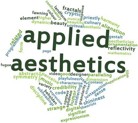 dualism: Nube palabra abstracta para la est�tica aplicada con etiquetas y t�rminos relacionados
