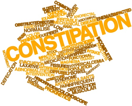 colonic: Abstract word cloud for Constipation with related tags and terms
