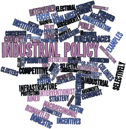 subsequently: Abstract word cloud for Industrial policy with related tags and terms