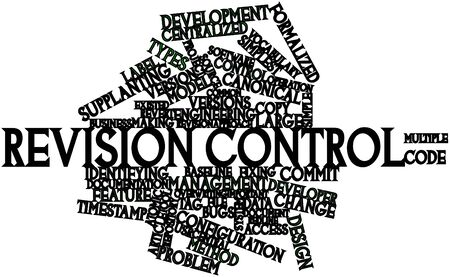 concurrent: Abstract word cloud for Revision control with related tags and terms