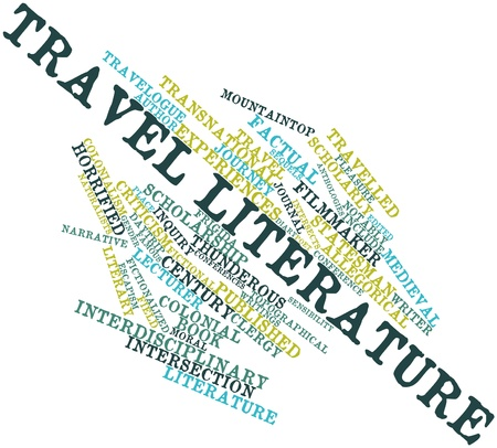 Abstract word cloud for Travel literature with related tags and terms Stock Photo - 16982808