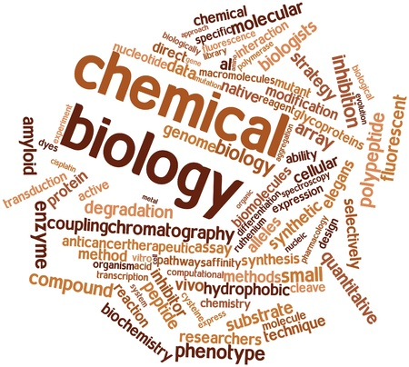 Abstract word cloud for Chemical biology with related tags and terms Stock Photo - 17024302