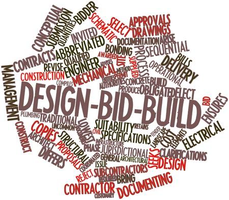 alkalmasság: Absztrakt szó felhő Design-bid-építeni a kapcsolódó címkék és kifejezések