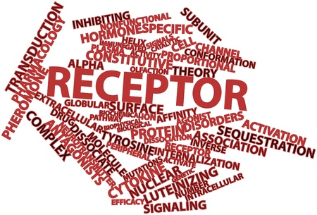 dissociation: Abstract word cloud for Receptor with related tags and terms