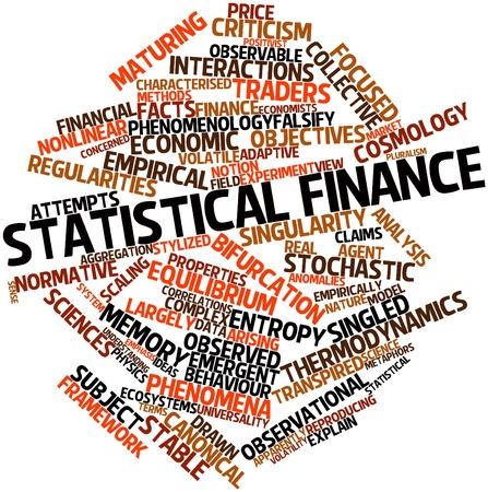 observational: Nube de palabras Resumen estad�stico de las finanzas con las etiquetas y t�rminos relacionados