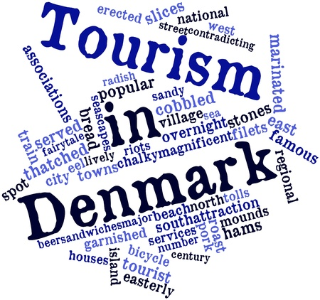 thatched: Abstract word cloud for Tourism in Denmark with related tags and terms