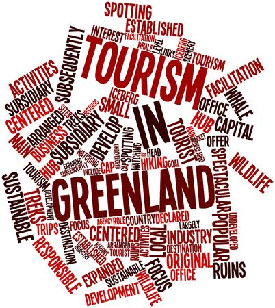 subsequently: Abstract word cloud for Tourism in Greenland with related tags and terms