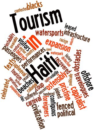 suffered: Abstract word cloud for Tourism in Haiti with related tags and terms