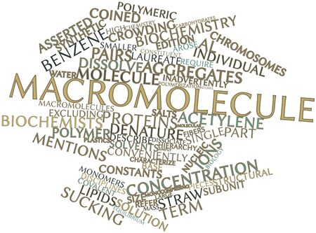 readily: Abstract word cloud for Macromolecule with related tags and terms