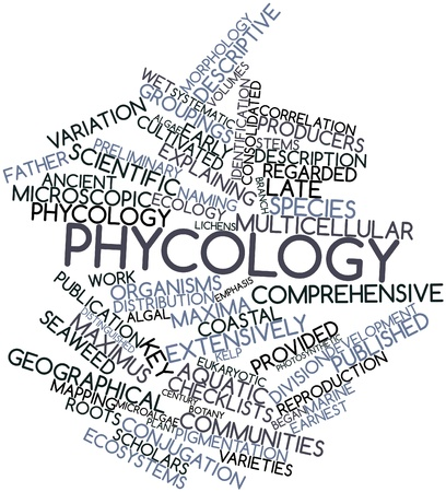 algal: Abstract word cloud for Phycology with related tags and terms
