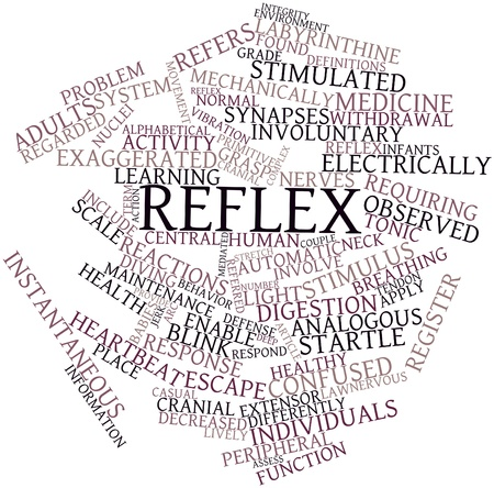 Abstract word cloud for Reflex with related tags and terms Stock Photo - 17024588